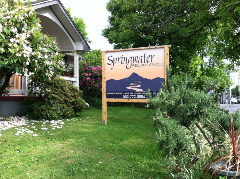 Springwater Wellness Center, home of Plant~Spirit~Massage